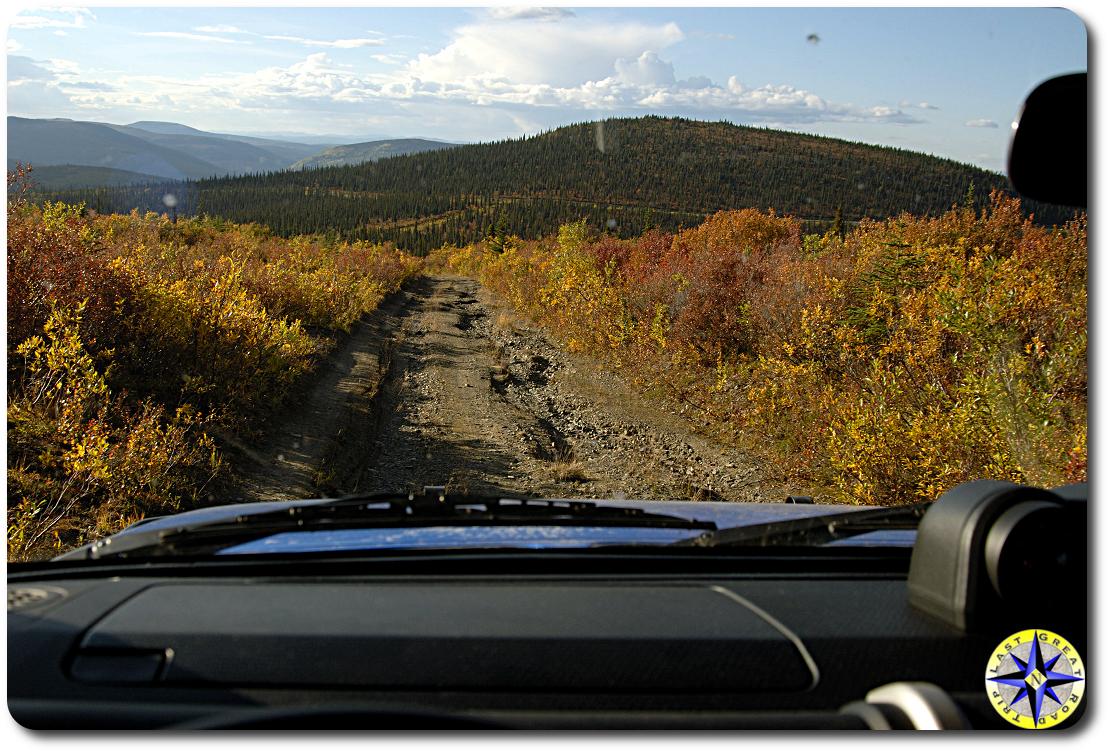 alaska 4x4 trail view