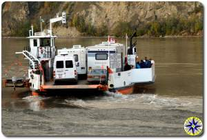 yukon river car ferry