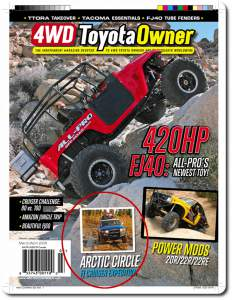 4wd toyota owner MarchApril 08 cover