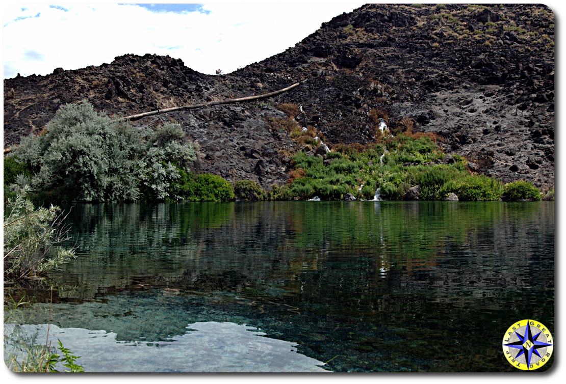 hidden swimming hole