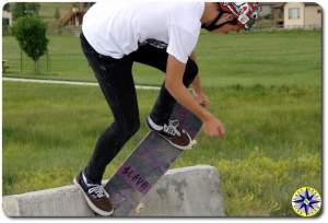 jersey barrier skating