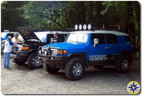 2007 toyota fj cruiser arb bumper