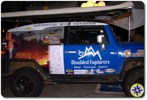disabled explorers fj cruiser