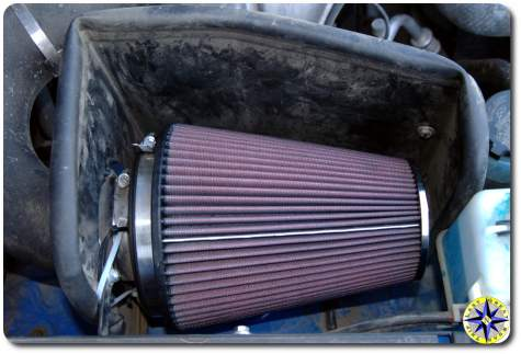 fj cruiser kn air filter