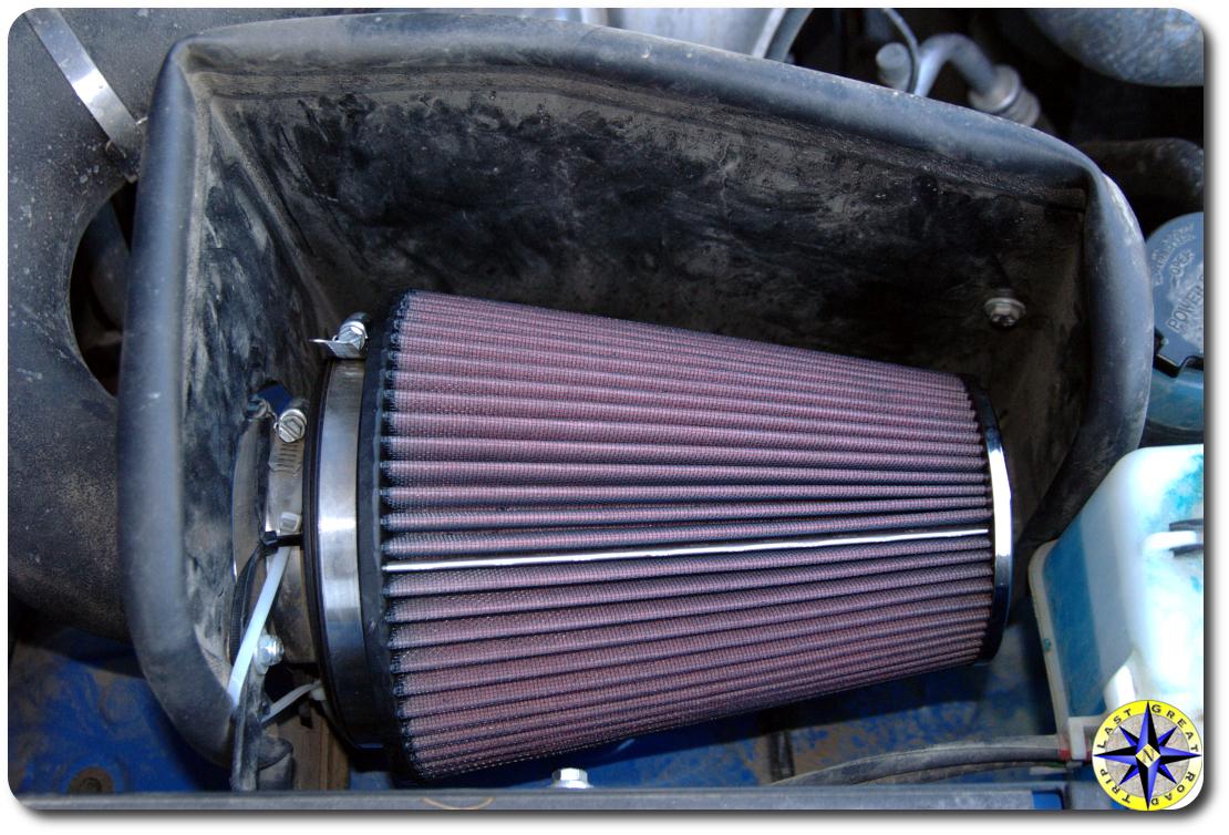 fj cruiser k & n air filter