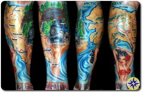 fj cruiser tattoo sleeve