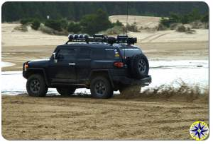 toyota fj cruiser sand dunes