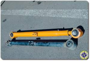Metal Tech fj cruiser lower control arm stock fj cruiser lower control arm