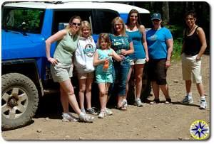 fj cruiser women 4x4 trail drivers