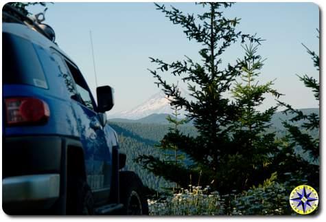 voodoo blue fj cruiser mountain view