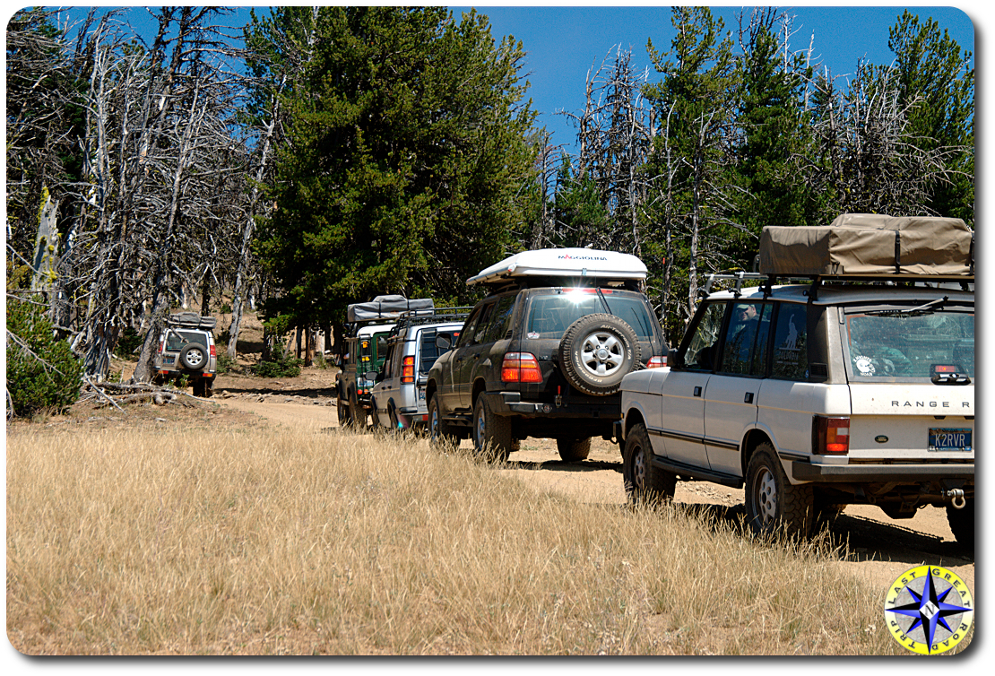 nw overlander range rovers 4x4 trail