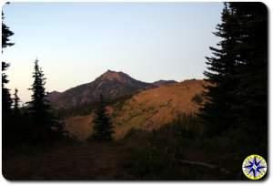mount angeles at hurrican ridge