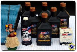 amsoil engine oil change supplies
