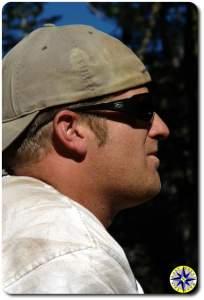 man head shot profile - Tim