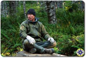 bill burke sitting rock