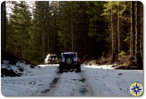 snow fj cruisers tillamook forest