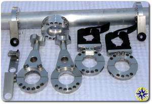 fourtrek tube mounting components