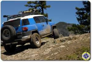 voodoo blue fj cruiser rocky hill climb