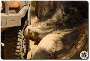 trd fj cruiser naches wagon trail stump