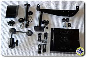 fj cruiser RAM mount components
