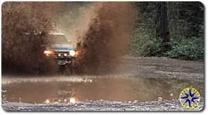 fj cruiser wall of muddy water