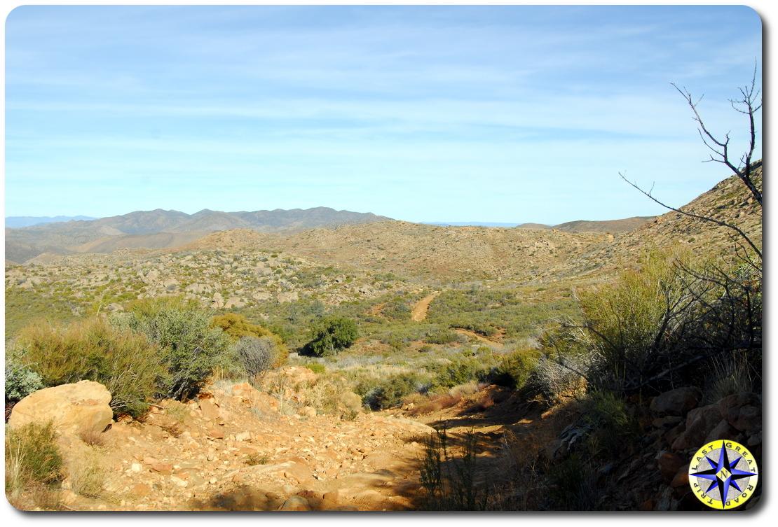 northern baja 1000 trail