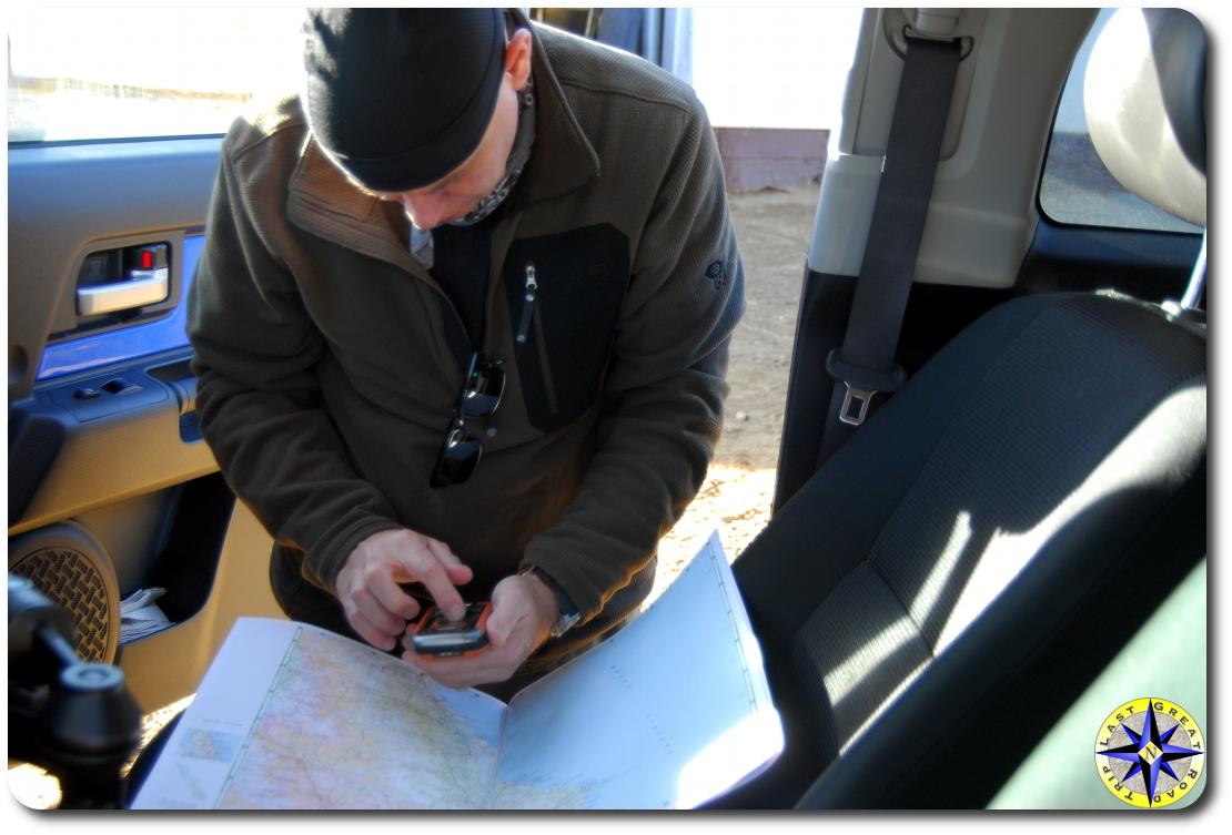 Navigation maps and GPS