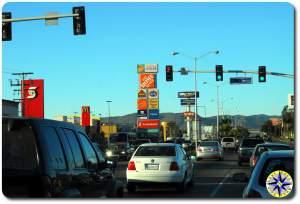 commercial streets of ensenada