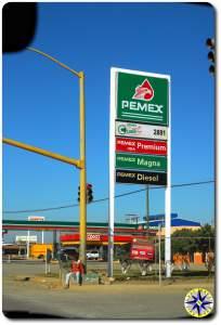 pemex station ensenada mexico