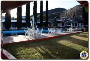 pool at mikes sky rancho morning