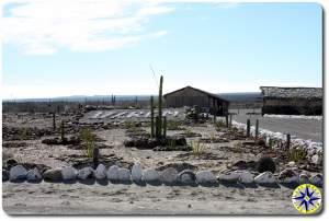 empty baja mexico millitary base