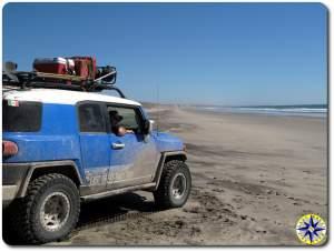 voodoo fj cruiser baja mexico pacific ocean beach