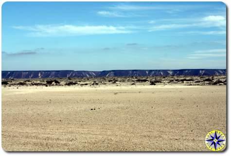 baja mexico dry marsh