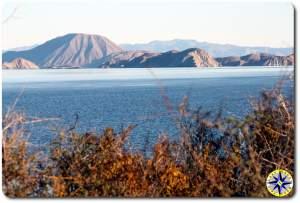 Bahía de los Ángeles morning bay view