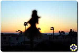 hula betty sunset