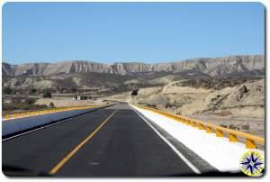 baja highway bridge