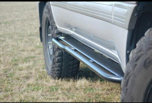 Land Cruiser 100 series sliders