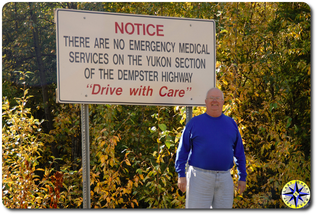 Dempster Highway Notice