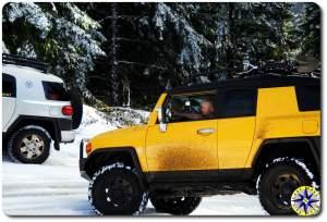 yellow fj cruiser
