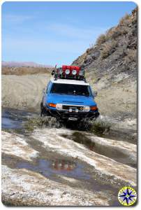 fj cruiser baja swamp crossing