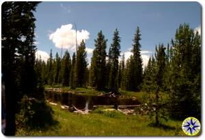 mountain pond