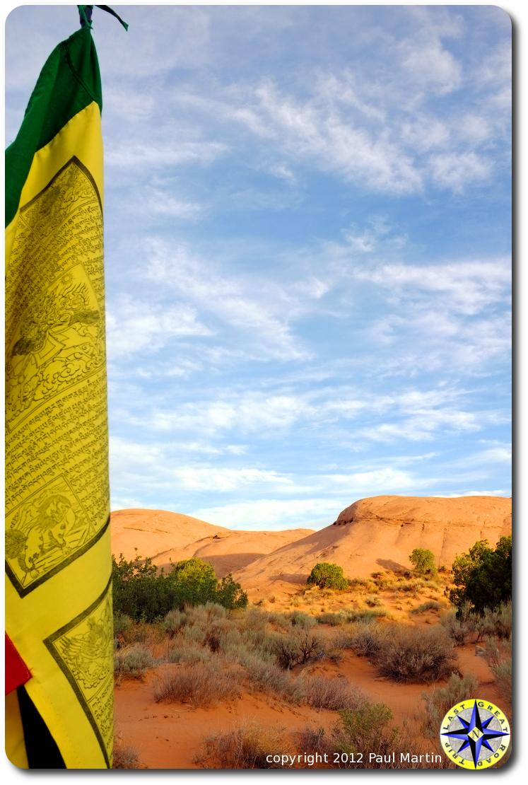 moab prayer flag