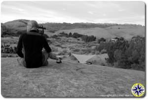 looking over kamp karma in moab
