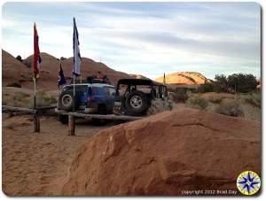 prayer flags 4x4 trucks