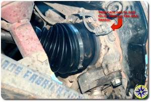 outboard drive shaft