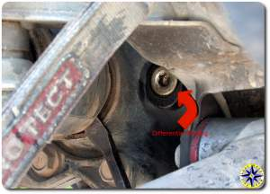 inboard drive shaft removal