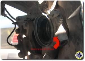 steering knuckle oil seal