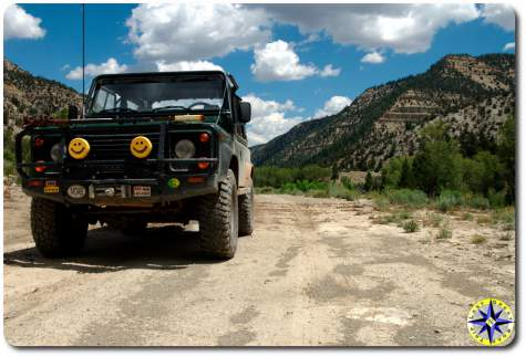 landrover defendor D90 utah backcountry discovery route