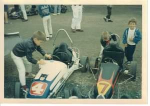 quart midget racecar prep