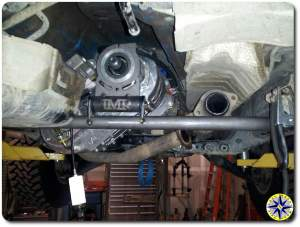 atlas transfer case mounted
